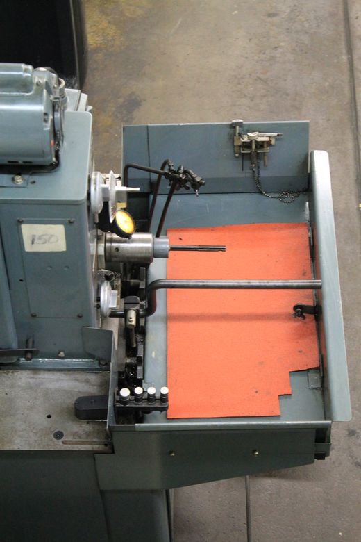 High accurate honing machine by Sunnen.