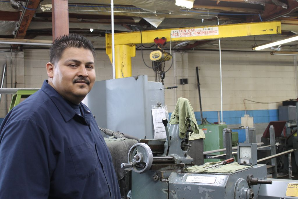 Raymac Grinding. We have qualified and experience machine operators such as Brayan.