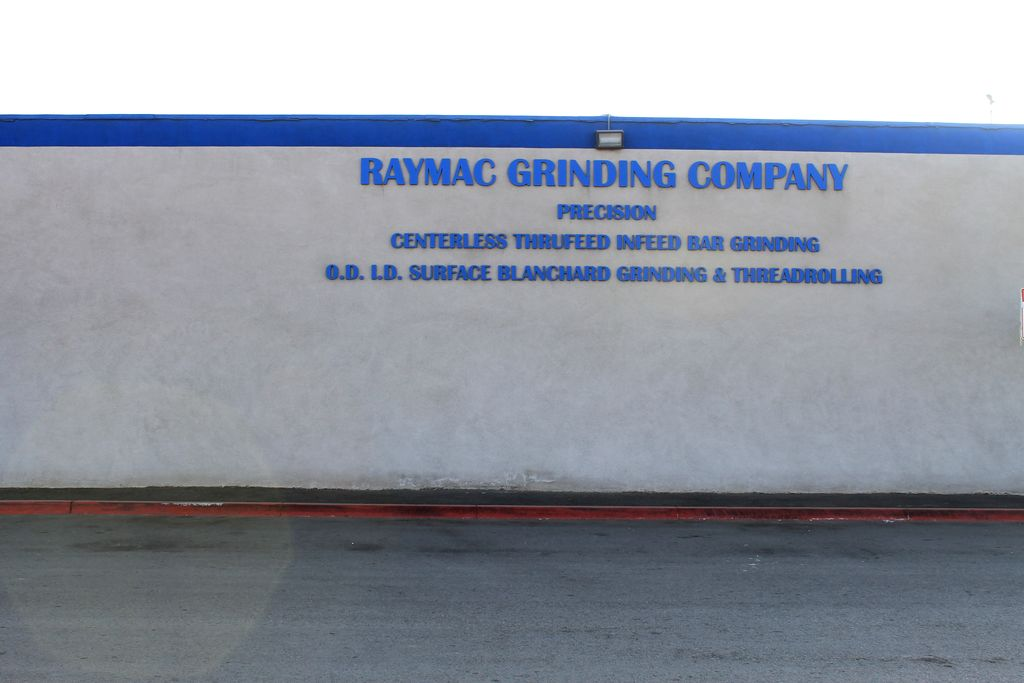Raymac machine shop, offers many machining services.